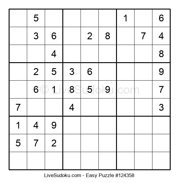 Beginners Puzzle #124358