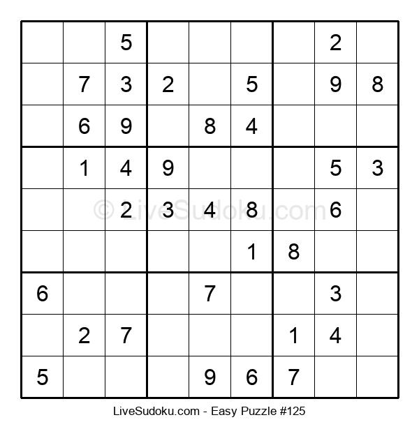 Beginners Puzzle #125