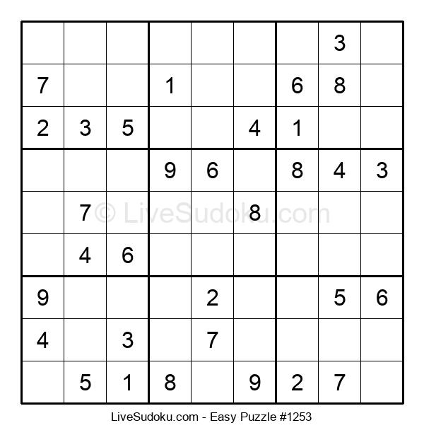 Beginners Puzzle #1253