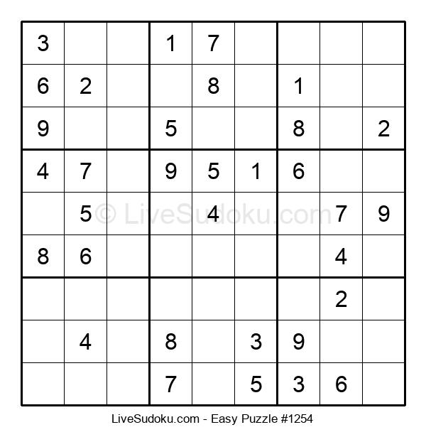Beginners Puzzle #1254