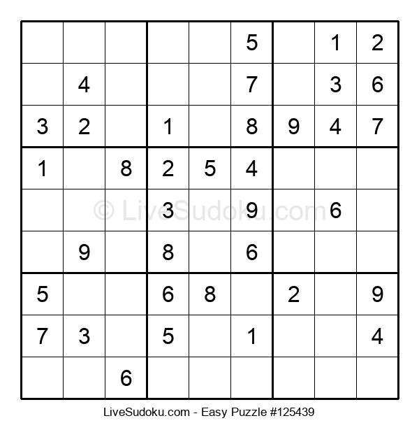Beginners Puzzle #125439