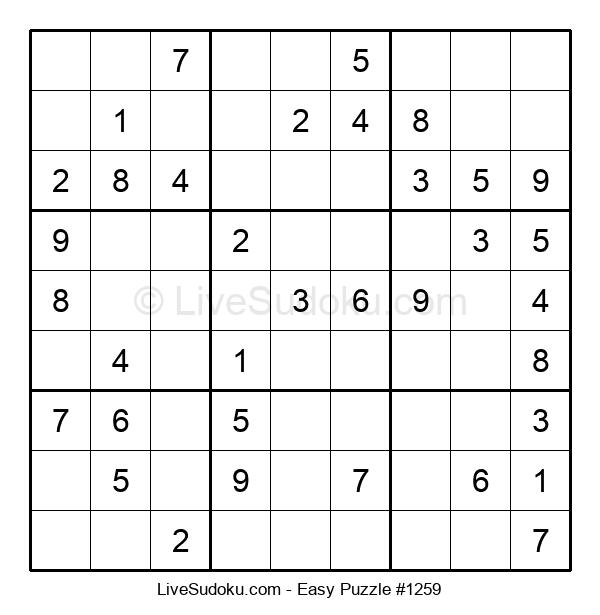 Beginners Puzzle #1259