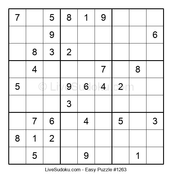 Beginners Puzzle #1263