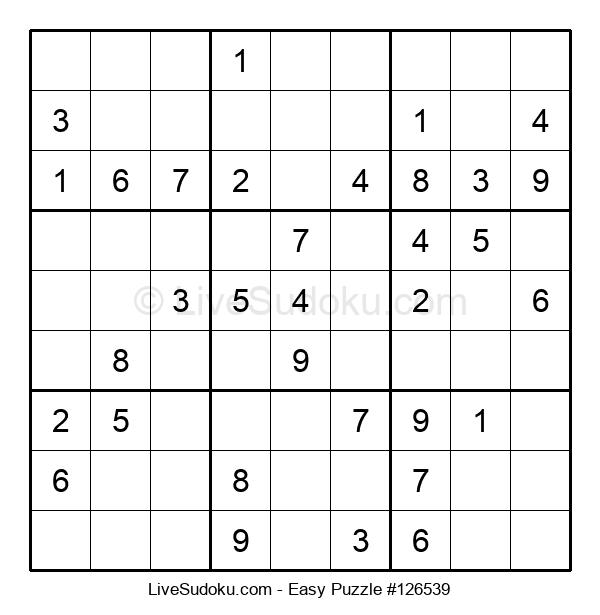 Beginners Puzzle #126539