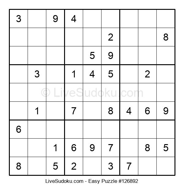 Beginners Puzzle #126892