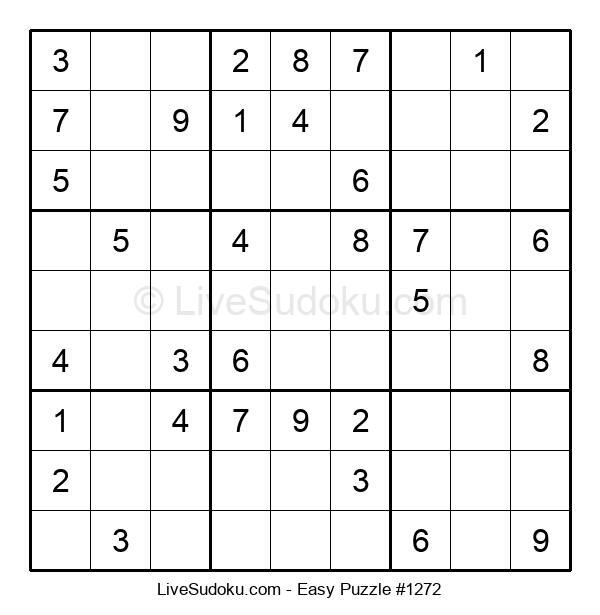 Beginners Puzzle #1272