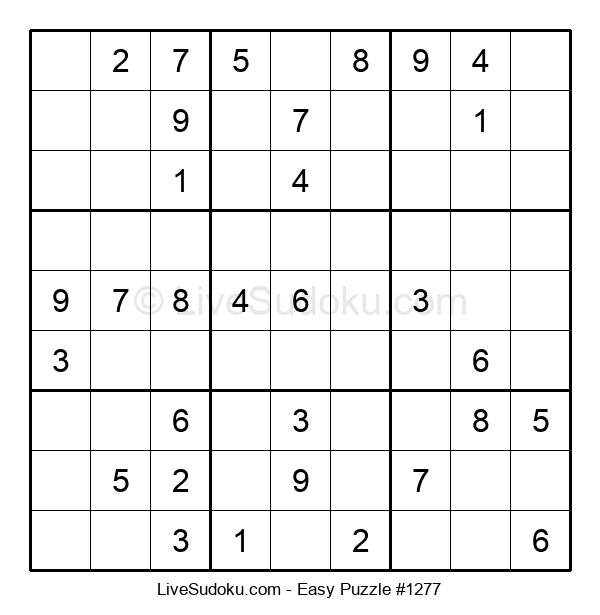 Beginners Puzzle #1277