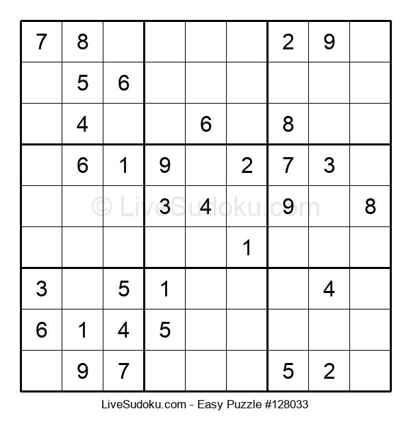 Beginners Puzzle #128033