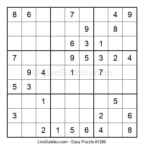 Beginners Puzzle #1286