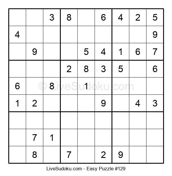 Beginners Puzzle #129