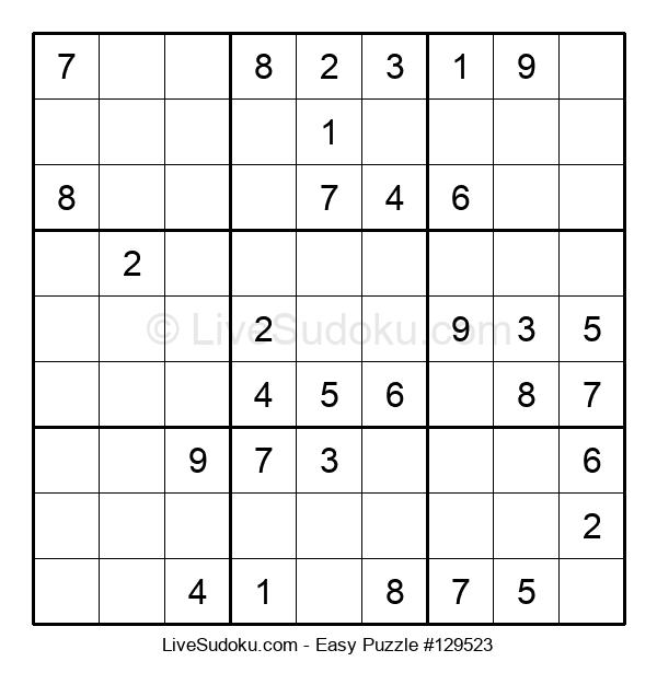 Beginners Puzzle #129523