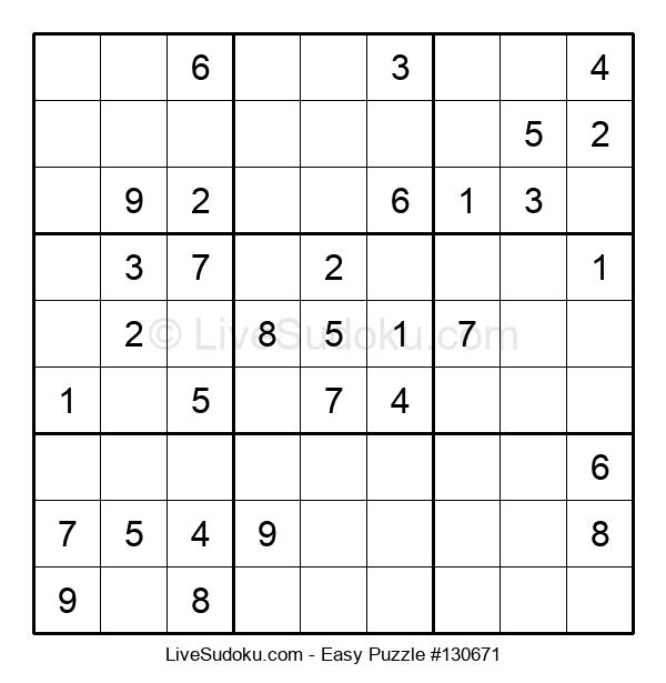 Beginners Puzzle #130671
