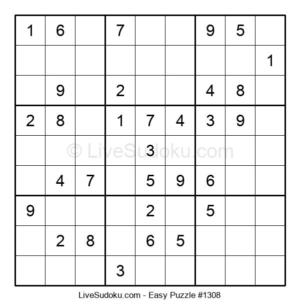 Beginners Puzzle #1308