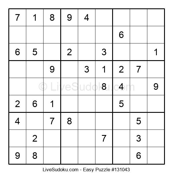 Beginners Puzzle #131043