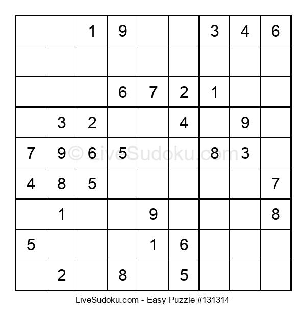 Beginners Puzzle #131314