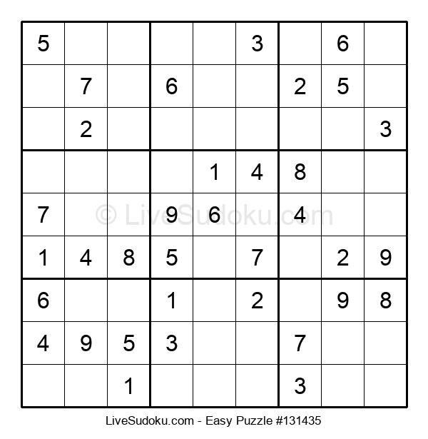 Beginners Puzzle #131435