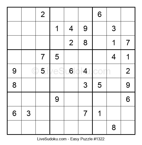 Beginners Puzzle #1322