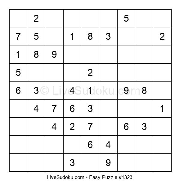 Beginners Puzzle #1323