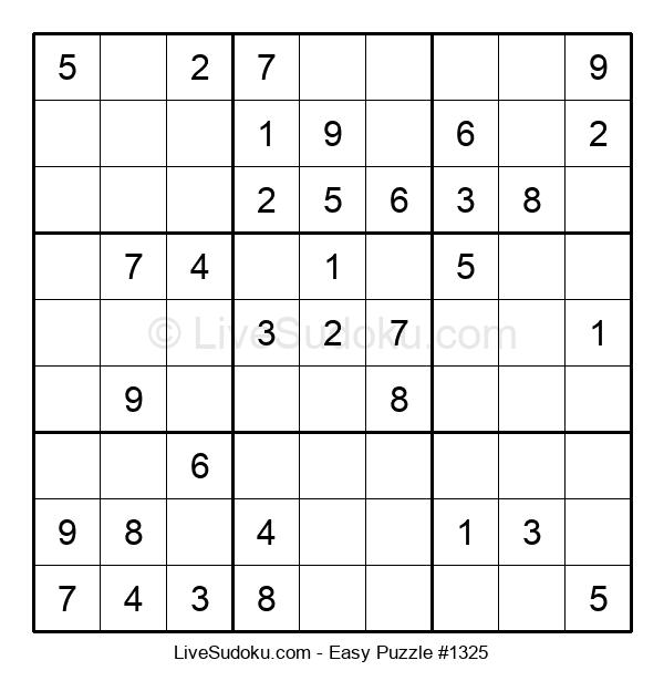 Beginners Puzzle #1325