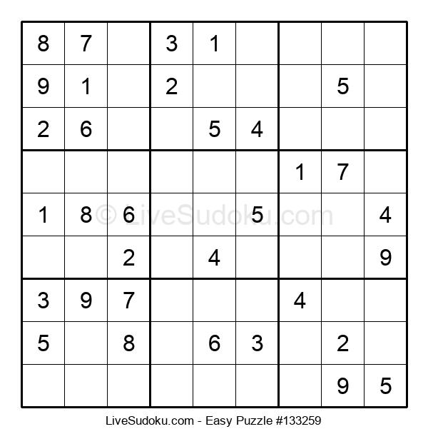 Beginners Puzzle #133259