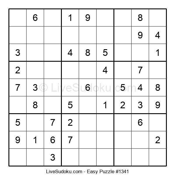 Beginners Puzzle #1341