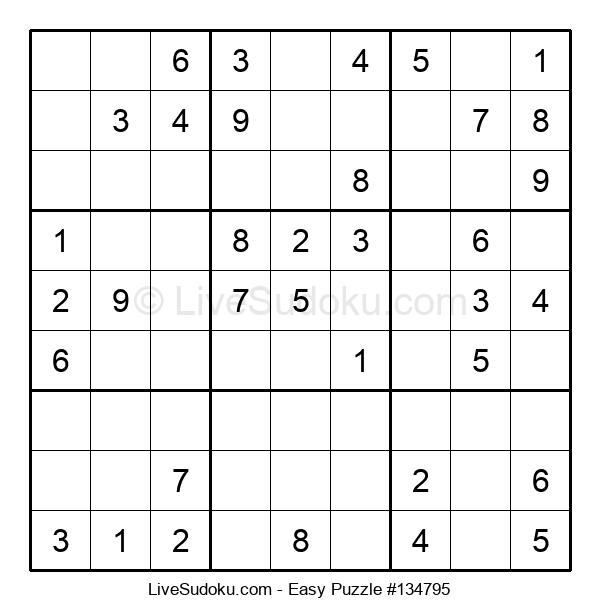 Beginners Puzzle #134795
