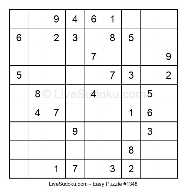 Beginners Puzzle #1348