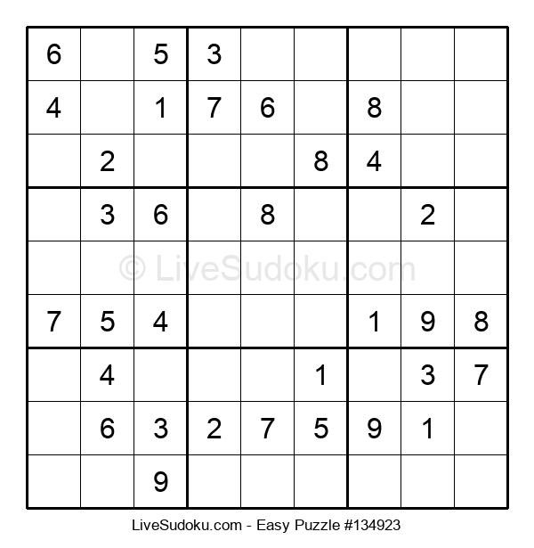Beginners Puzzle #134923
