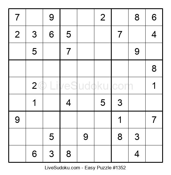 Beginners Puzzle #1352
