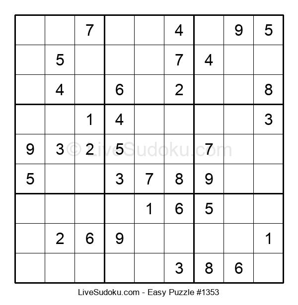 Beginners Puzzle #1353