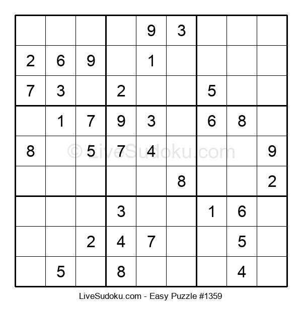 Beginners Puzzle #1359