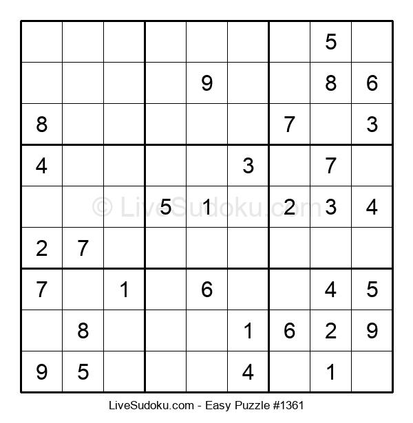 Beginners Puzzle #1361