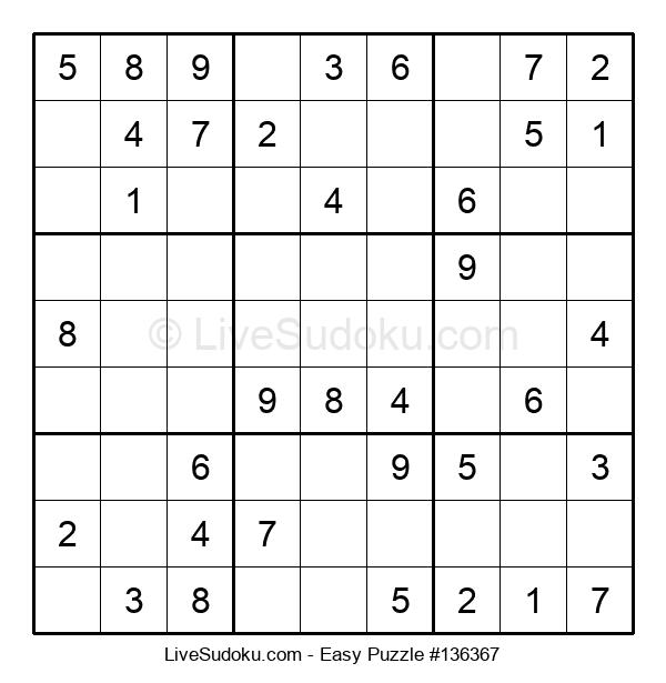 Beginners Puzzle #136367