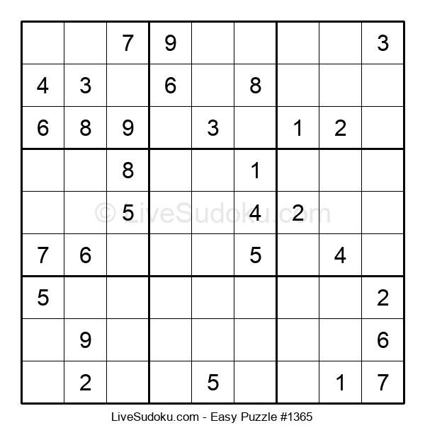 Beginners Puzzle #1365