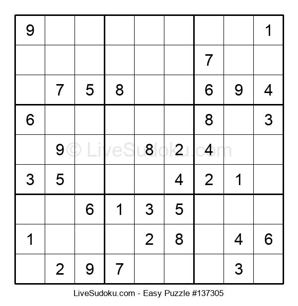 Beginners Puzzle #137305