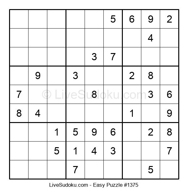 Beginners Puzzle #1375