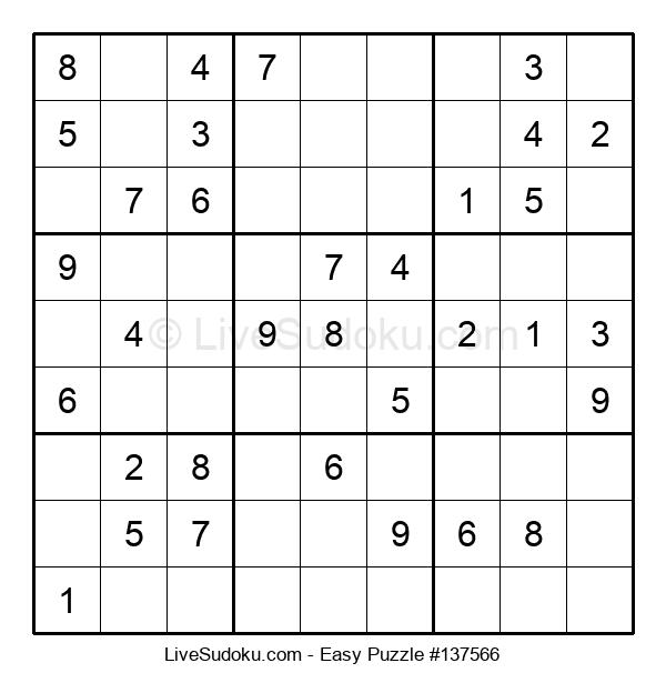 Beginners Puzzle #137566