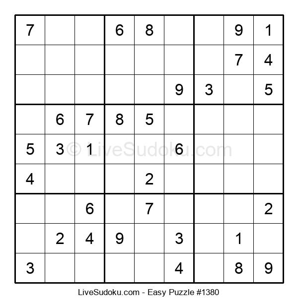 Beginners Puzzle #1380