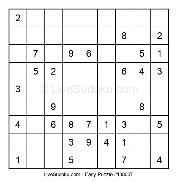 Beginners Puzzle #138007