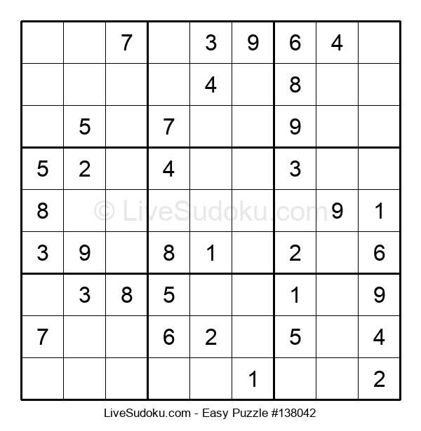 Beginners Puzzle #138042