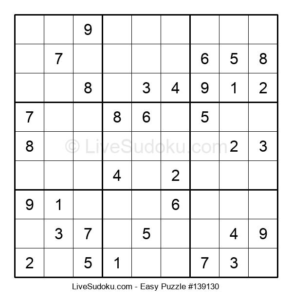 Beginners Puzzle #139130