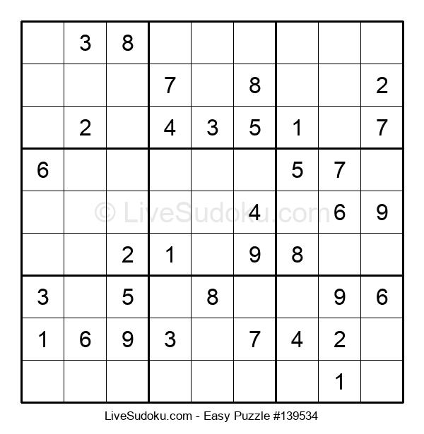 Beginners Puzzle #139534