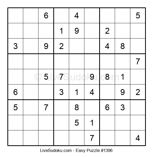 Beginners Puzzle #1396