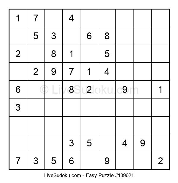 Beginners Puzzle #139621