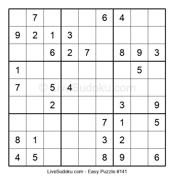 Beginners Puzzle #141