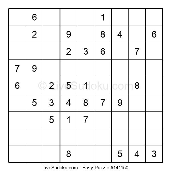 Beginners Puzzle #141150