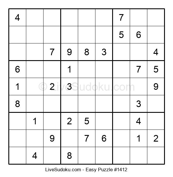 Beginners Puzzle #1412