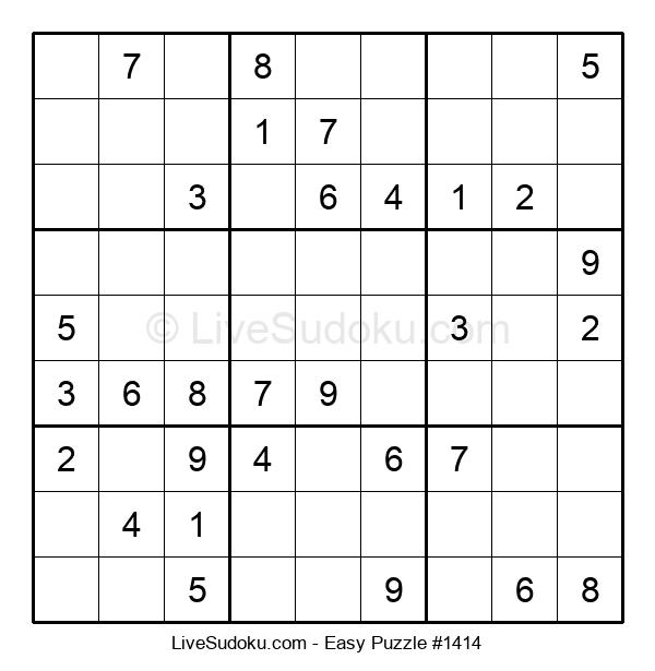 Beginners Puzzle #1414