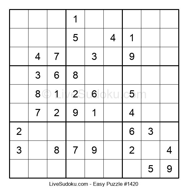 Beginners Puzzle #1420