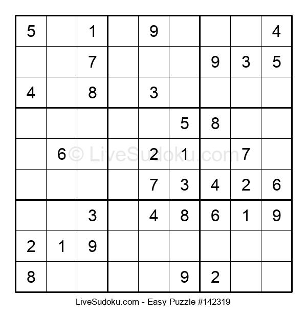 Beginners Puzzle #142319